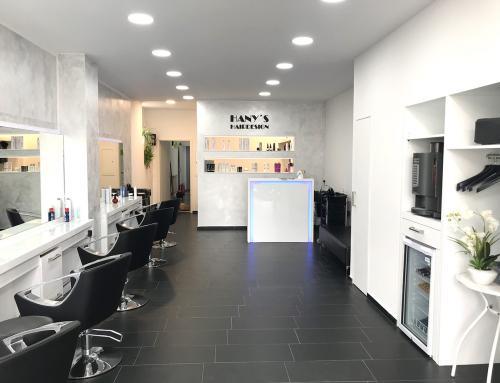 Unser frisch renovierter Friseursalon